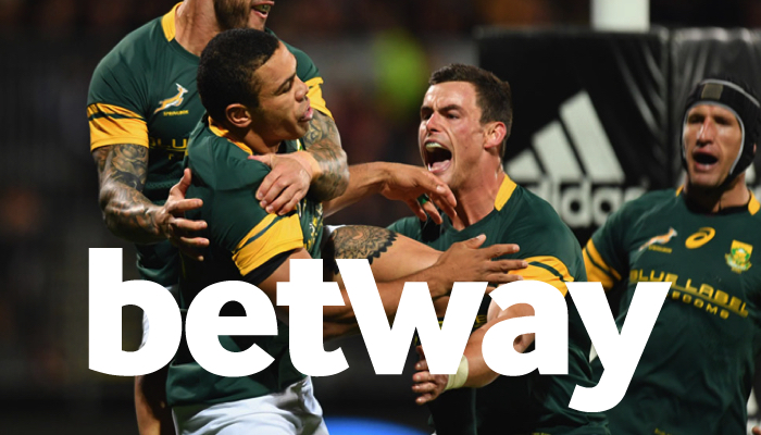 Betway Sign Deal With Springbok Rugby
