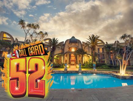 Sibaya Casino - Call Card 52