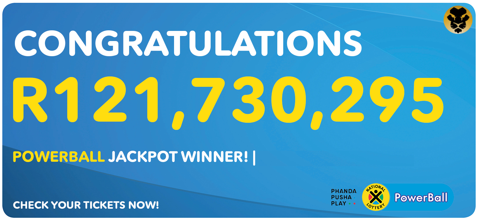 State Powerball Player Wins R121 Million