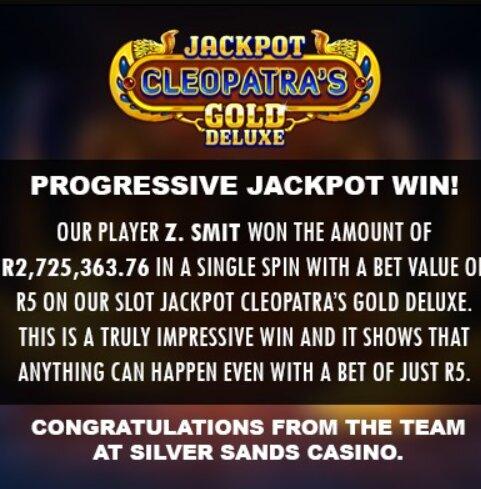SilverSands Casino - R300 Free No Deposit Bonus