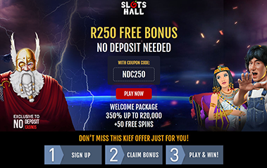 slots hall casino no deposit bonus