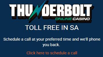 Thunderbolt Casino - Call Us Back