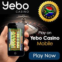 Yebo Casino - R350 Free No Deposit Bonus